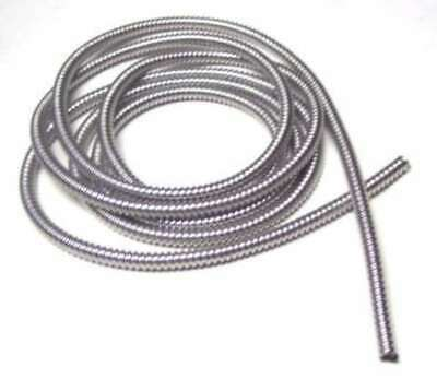 """wire loom 1/4"""" I.D. 120"""" long stainless steel for Peterbilt Kenworth Feightliner"""