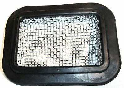 rock guard bumper fog light for Freightliner hole size 7x4-3/4 wire mesh rubber