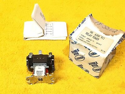 New Honeywell R8222 D 1055 12 Amp 2-Pole General Purpose Relay 24 V Coil