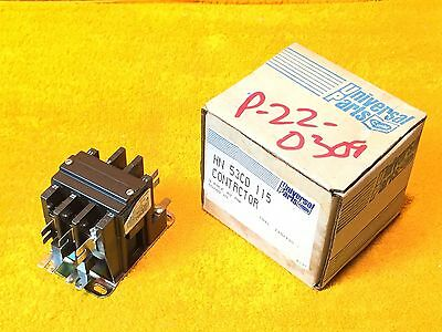 New Carrier Hn 53Cd 115 E 40 Amp 3-Pole Magnetic Contactor 120 V Coil