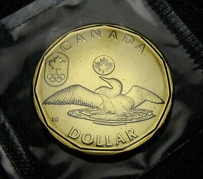 RCM - 2014 - $1 - Lucky Loonie - BU - Sealed in original cellophane from Mint