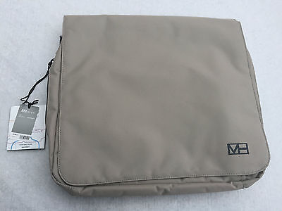 """MH Way Pronto briefcase/packpack """"17 Ecru"""