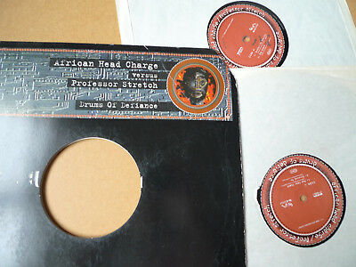 African Head Charge Vs. Professor Stretch – Drums Of Defiance 2xLP ON-U 0093LP