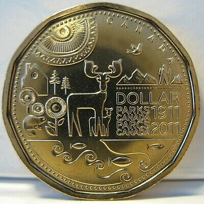 RCM - 2011 - $1 - Parks Canada - BU ( from a new roll )