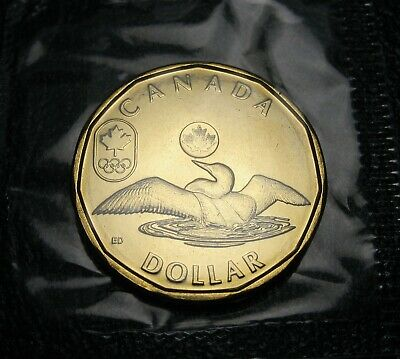 RCM - 2012 - $1 - Lucky Loonie - BU - Sealed in original cellophane from Mint