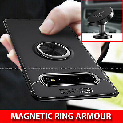 For Samsung Galaxy S10 S10e Plus Luxury Hybrid Magnetic Shockproof TPU Cover