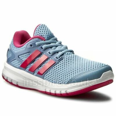 promo code 22ce4 efbc0 Adidas Energy Cloud Light Blue Pink Running Trainer Shoe Size 1 New Rrp  £34.99