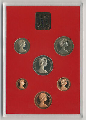 1981 Coinage of Great Britain and Northern Ireland, Royal Mint proof set