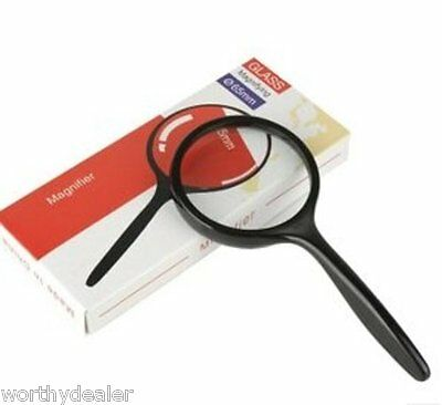 Grand Loupe pour Lecture Loupe Loupe Glas Grossissant Larg Lecture