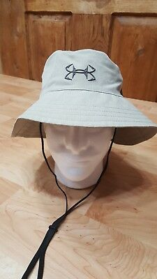 92212a69dba Under Armour UA ArmourVent™ Coolswtich Thermocline City Khaki Tan Bucket  Sun Hat
