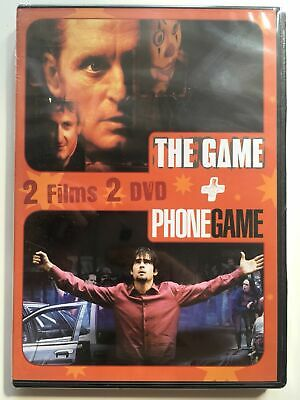 DVD *** THE GAME + PHONE GAME ***   ( neuf sous blister )