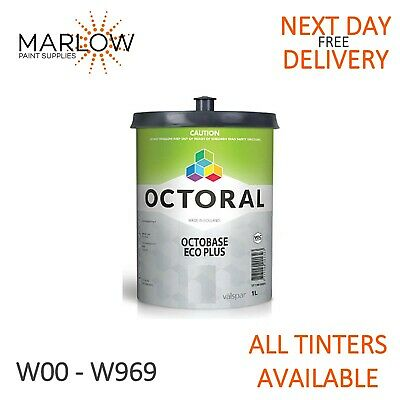 Octoral Eco Plus Water Based Basecoat Tinters W00-W969  *Free Next Day Delivery*