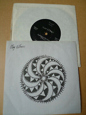 """CLAY ALLISON Fell From The Sun 7"""" Serpent Records SR001"""