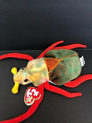 eaf8114a696 TY BEANIE BABY - SCURRY the Beetle -  5.99