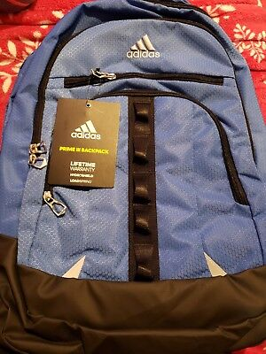 c8a4a429ba NEW Adidas Prime III Backpack Laptop Hydroshield Loadspring Blue B161