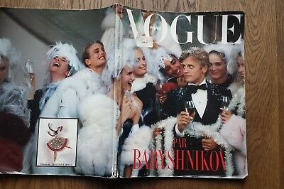 VOGUE PARIS Dec 1986/ Jan 1987 Baryshnikov special edition VERY RARE