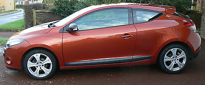 2010 60 Renault Megane Coupe I-Music 1.5  Dci 110 Service History  £30Rfl Diesel