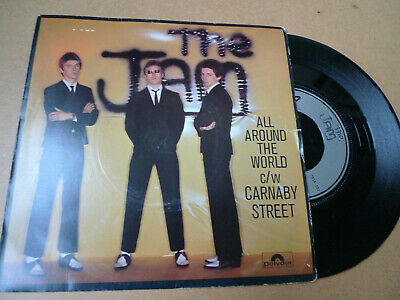 """THE JAM All Around The World 7"""" Polydor 2058 903 Picture Sleeve VG/EX+"""