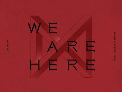 MONSTA X - WE ARE HERE [Random ver.] CD+PO Benefit+Poster+Gift+Tracking no.