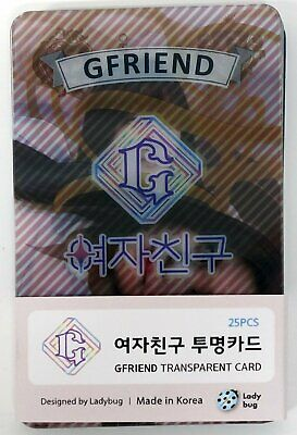 G-FRIEND GFRIEND - TRANSPARENT PHOTO CARDS 25pcs [FAN GOODS]
