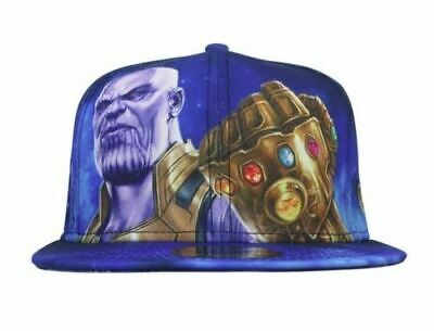Avengers Infinity War Thanos Infinity Gauntlet New Era 59 Fifty Brand New w/Tag