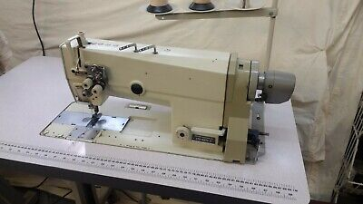 Brother Twin Needle Industrial sewing machine , Needle Feed