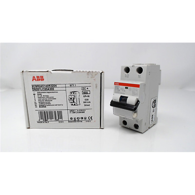 Abb Ds201 L Differenziale Magnetotermico 4,5Ka 1P+N A C20 300Ma Ds1Lc20A300