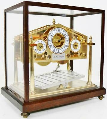 Rare Fine Quality Vintage English Small Congreve Mystery Automation Table Clock