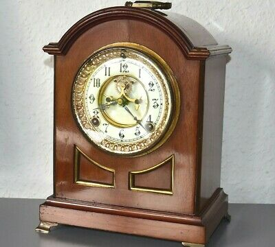 ANSONIA New York 1882 antique mantle clock. Made in USA. Working order.