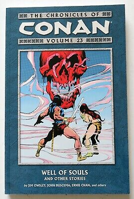 Chronicles of Conan Vol 23 Well of Souls Dark Horse NEW Graphic Novel Comic Book