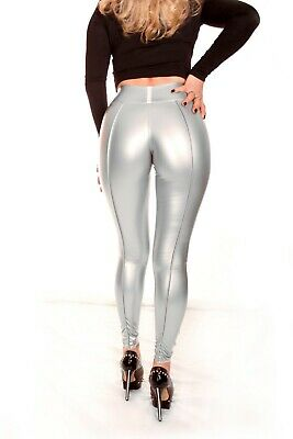 Booty Leggings UltraContourFront HL5AX - CrystalLac Z360 SILBER - L