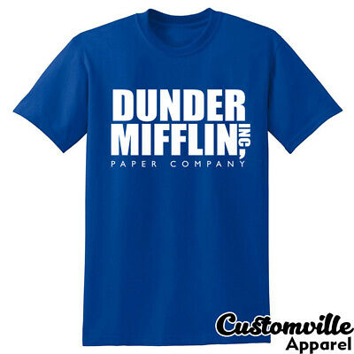 Dunder Mifflin Inc Paper Co T-shirt. Scranton PA The Office Dwight Jim Pam shirt