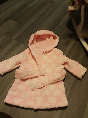 0-3 Months Baby Girl Dressing Gown