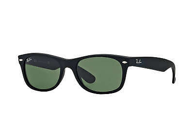 67fc5807ae5 RAY-BAN RB2132 NEW Wayfarer Sunglasses Black  Green Classic 52mm ...