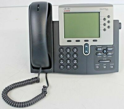 CISCO CP-7962G 6-Line Unified IP Voip Phone