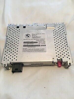 Genuine BMW Satellite Radio Module 9162994 9192274 Brand New E60 E82 E90 E63 E65