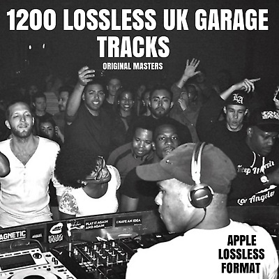 Ultimate UK Garage Collection: 1200 Lossless UKG & 2-Step ALAC Tracks (Not MP3)