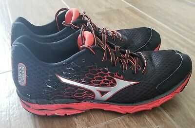 size 40 a2b8a 52b32 MIZUNO WAVE INSPIRE 11 Athletic Running Shoes - Men's Size 11.0 -  Black/Orange