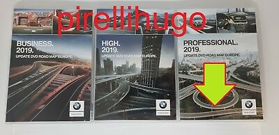 2019 BMW Professional DVD FULL Europe DVD-Navigation GANZ EUROPA (3xDVD) BLITZER
