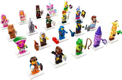 Collectible Minifigures The LEGO Movie 2