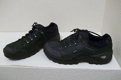 c4af7656c46 MENS LOWA RENEGADE Ii Gtx Lo Black Waterproof Hiking Casual Shoes/boots Sz  13
