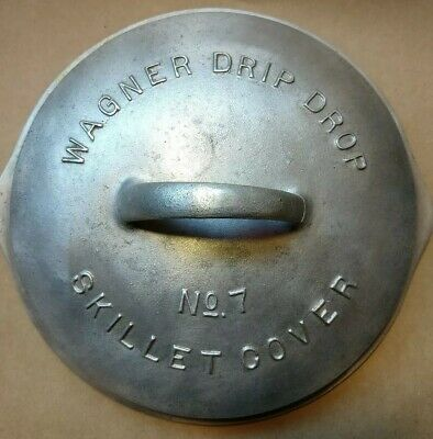 Wagner Ware Aluminum No. 7 skillet cover Lid(may fit cast iron)