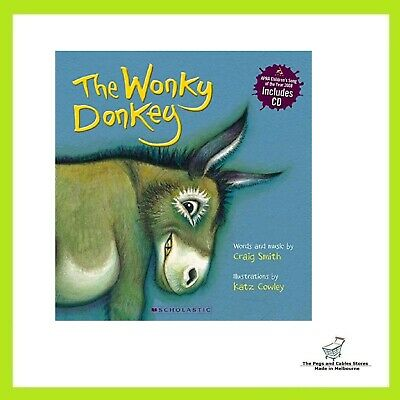 The Wonky Donkey by Craig Smith Children's Reading Picture Story Book