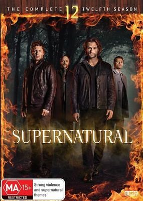 Supernatural : Season 12 (DVD, 6-Disc Set) NEW