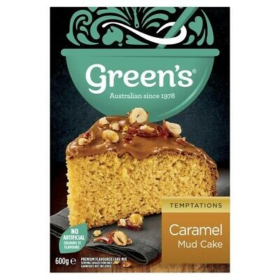 Green's Caramel Mud Cake Mix 600g