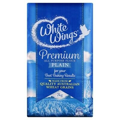 White Wings Plain Flour 2kg