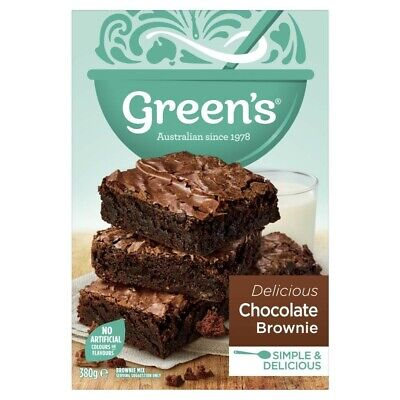 Green's Delicious Chocolate Brownie Baking Mix 380g