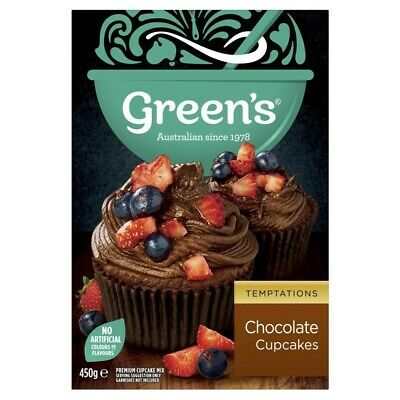 Green's Velvety Chocolate Cupcake Baking Mix 450g