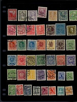 43 very old stamps from Austria - see scan
