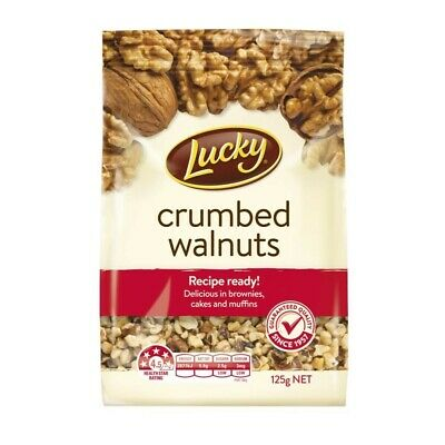 Lucky Crumbed Walnuts 125g